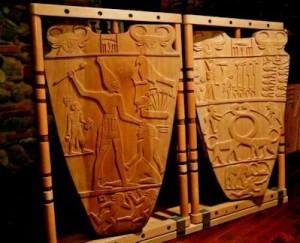 Fig 4bis Tavoletta di Narmer (3100 a.C.) (Museo Egizio del Cairo)