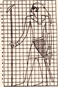Fig 8 Canone egizio