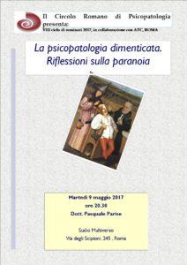 paranoia e psicopatologia